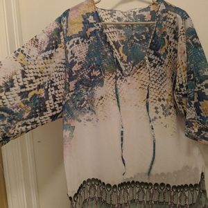 NWOT bathing suit cover up